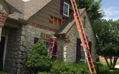 When Siding & Trim Contact the Top Side of Shingles